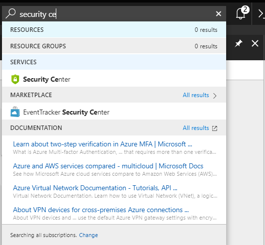 security center azure resource group just in time access